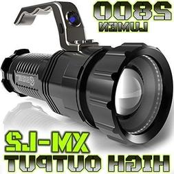2800 LUMEN | HIGH OUTPUT | RECHARGEABLE | ZOOMABLE Floodligh