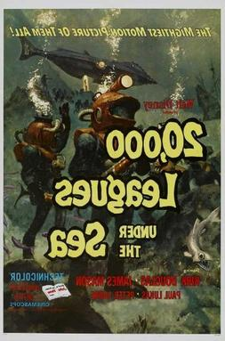 20,000 Leagues Under the Sea Movie Poster   Style B -