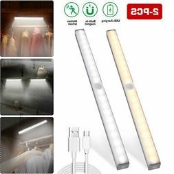 20 LED Wireless Under Cabinet Light USB Rechargeable Motion