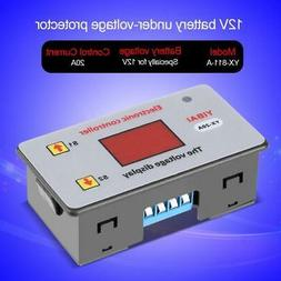 New 12V 20A Battery Under-voltage Auto Controller Low Voltag