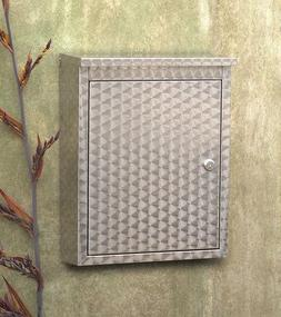 Architectural Mailboxes 2407PS Metropolis Wall Mounted Mailb
