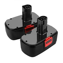 Energup 2 Pack 3.0Ah 19.2v Craftsman Replacement Battery for