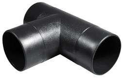 POWERTEC 70107 4-Inch T-Fitting Dust Hose Connector