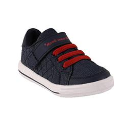 Dream Seek Boys Little Kid 1390 Navy Athletic Casual Strap F