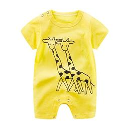 HOT!!Baby Boy Girl Cartoon Romper Cute Jumpsuit,0-24 Monthes