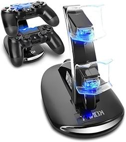 KONKY - PS4 Controller Charging Dock Stand, USB Dual Charger