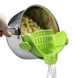 Kitchen Gizmo Snap 'N Strain Strainer, Clip On Silicone Cola