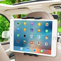 Nacycase Car Headrest Mount Holder with Adjustable 360°Degr
