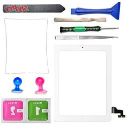 Prokit Adhesive New white iPad 2 Digitizer Touch Screen Fron