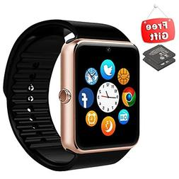 Smart Watch Phone with Sensitive Antenna Sport Fitness Track