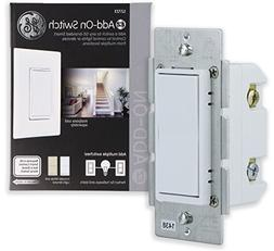 GE Add-On Switch only for GE Z-Wave, GE ZigBee and GE Blueto