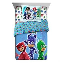 "Adorable and Super Soft PJ Masks ""On Our Way"" 2 Piece Twin/F"