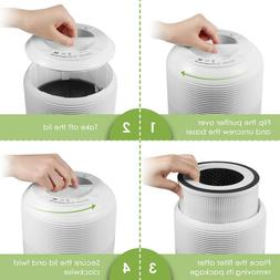 Air Purifier, Home & Office Air Cleaner with True HEPA Filte
