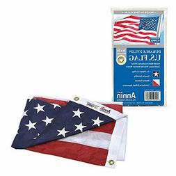 Annin Flagmakers Model 2460 American Flag 3x5 ft. Nylon Sola