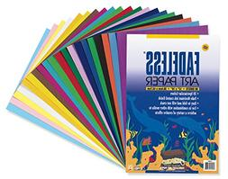 Fadeless Art Paper, 50 lb., 12 x 18 Inches, Multiple Colors,