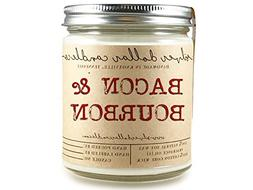 8oz Bacon & Bourbon Man Candle Hand poured 100% Soy Wax Scen