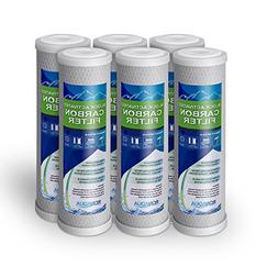 Block Activated Carbon Coconut Shell Water Filter Cartridge