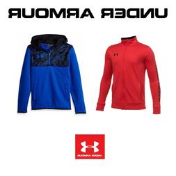 Boys 8-20 Under Armour Interval Jacket Armour Fleece ¼ Zip