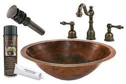 """Premier Copper Products BSP2_LO20FDB 20"""" Under Counter Coppe"""