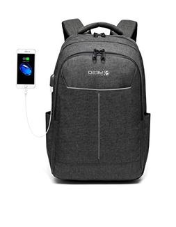 Business Laptop Backpack, College School Backpack with USB C