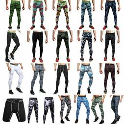Camouflage Pants Base Under Layer Men's Sports Apparel Long