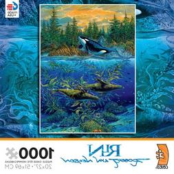 """Ceaco Robert Lyn Nelson """"Northern Summer"""" Puzzle,"""