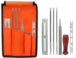 """Drixet Chainsaw Sharpening & Filing Kit – Includes: 5/32"""","""
