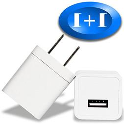 Charger Block 2PACK Fast Outlet USB Brick Wall AC Adapter Tr