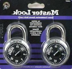Master Lock Combination Lock, Stainless Steel, 1 7/8 Wide, B