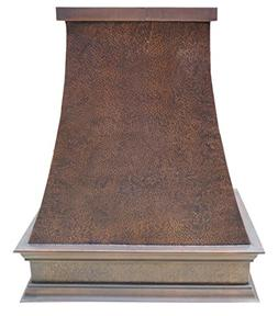 Sinda Copper Kitchen Range Hood with High Airflow Centrifuga