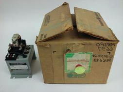 GE CR120YC20BA04B, SER. A, UNDER VOLTAGE RELAY, 1PH, 460V, 5