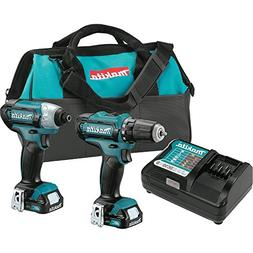 Makita CT226 12V max CXT Lithium-Ion Cordless Combo Kit,