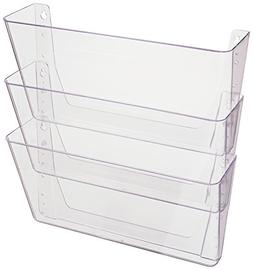 Deflecto DocuPocket, Wall File Organizer, Stackable, Letter