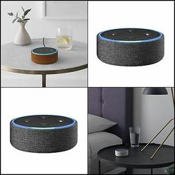 Echo Dot Case for 2nd Generation only - woven Charcoal Fabri