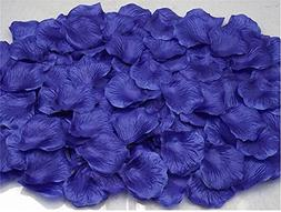 Wispun 1000Pcs Fabric Silk Flower Rose Petals Wedding Party