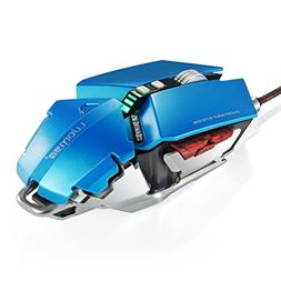 YCCTEAM Gaming mice,4000 DPI 10 Buttons LED Optical USB Wire