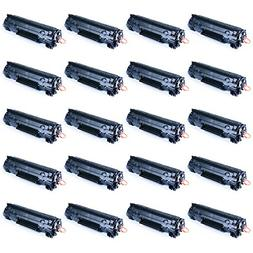 greencycle 20 Pack Generic Canon 126 3483B001 Black Toner Ca