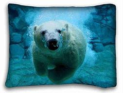 """DEGTTF Generic Personalized  DIY Pillow Cover Size 20""""X26"""" S"""