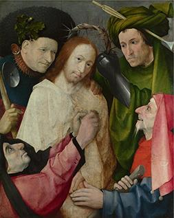 'Hieronymus Bosch Christ Mocked  ' Oil Painting, 20 X 25 Inc