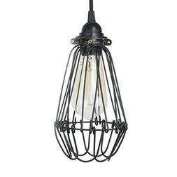 Industrial Vintage Style Hanging Pendant Light Fixture Thick