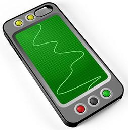iPhone Case Fits iPhone 8 Oscilloscope Device Graph Lab Labo