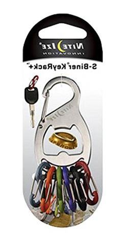 Nite Ize KeyRack, Stainless Steel Carabiner Key Chain With B