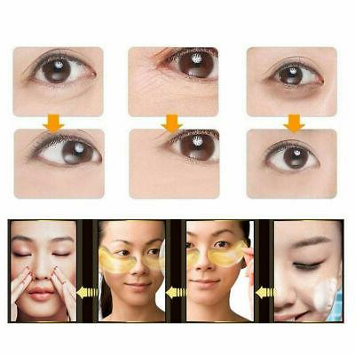 20 pairs Crystal Collagen Eye Pads Mask Wrinkles