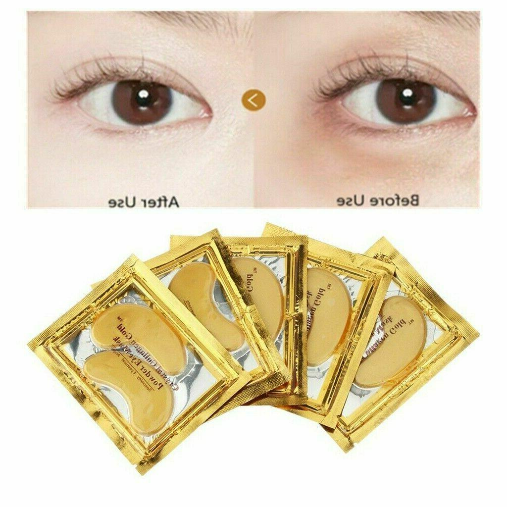 20 Under Eye Mask Collagen Patch Wrinkle Circle Pad
