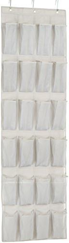 AmazonBasics 24-Pocket Over-the-Door Medium-Size Shoe Organi