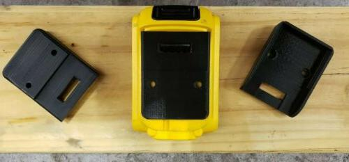 **2 Pack** Dewalt/Mac 20V Battery Holder Mount
