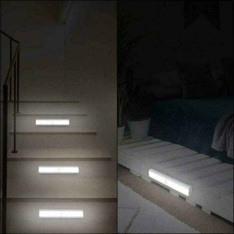 Under LED USB Rechargeable for Stairs Closet
