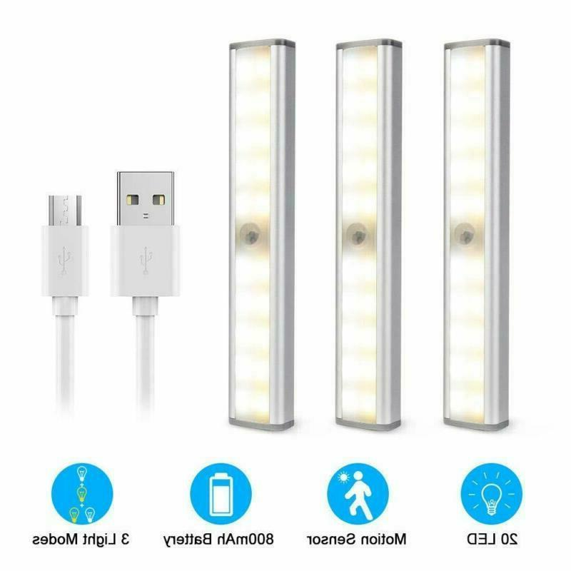 Under Cabinet LED USB Rechargeable for Stairs