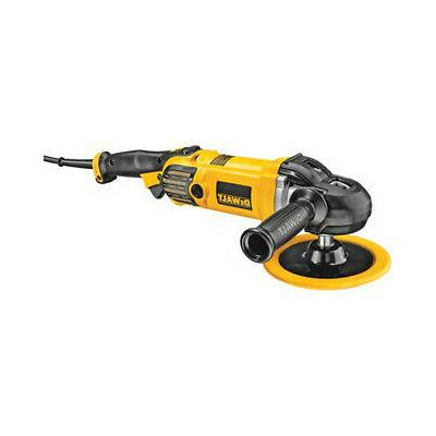 7 in 9 in variable speed polisher