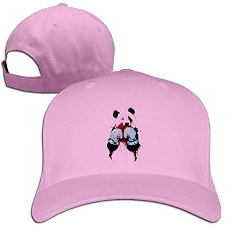Gaosus Unisex Duck Tongue Hat Panda Boxing Adjustable Leisur